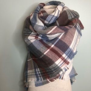 Zara Plaid Scarf/Wrap